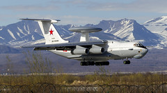 RF-50610 Russian Aerospace Forces Beriev A-50U (Zhuravlev Nikita) Tags: il76 76 ilyushin a50 awacs aerospace forces russian military kamchatka spotting uhpp pkc