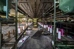 Urbex - Filature verte (Tsx13) Tags: urbex urban exploration urbaine decay usine abandonnée abandoned factory filature france marseille bordeaux rennes