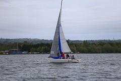Kite up (antrimboatclub) Tags: antrimboatclub boat sail sailing ireland sixmilewater loughneagh antrimbay antrim