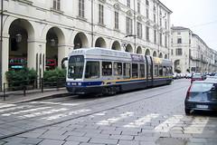 TRN_5039_200407 (Tram Photos) Tags: torino turin tram tramway tranviaria strasenbahn gtt atm fiat 5000 fiatferroviaria