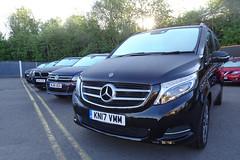 £40k minibus (stevenbrandist) Tags: imperialcars mountsorrel leicestershire leicester mercedesbenz mercedes mercedesbenzvclassv220dsport5drauto kn17vmm