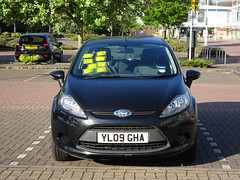 The start of a collection (stevenbrandist) Tags: loughborough payanddisplay ford fiesta fine parking