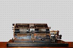 (Very) old equipment (Johann (Still Me!)) Tags: flickrlounge weeklytheme thepowerofone old obsolete equipment rust rusty makemesmile johanndejager ef24105mmf4lisiiusm canoneos5dmarkiv diegutealtezeit mechanicaladdingmachine brunsviga