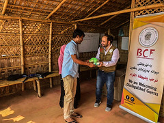 BCF Delivering Humanitarian Aids to The Rohingya Refugees in Kutupalog camp, in Cox's Bazar, Bangladesh (6)