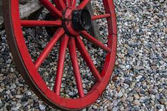 vintage wheel (bhermann.hamburg) Tags: wheel rad rot red vintage nostalgie