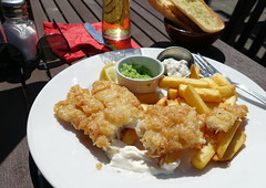 Fish & Chips at the Ancient Oak pub in Preston (Tony Worrall) Tags: ancientoak pub sunlit fishandchips fries english outdoor sunny publunch images photos photograff things uk england food foodie grub eat eaten taste tasty cook cooked iatethis foodporn foodpictures picturesoffood dish dishes menu plate plated made ingrediants nice flavour foodophile x yummy make tasted meal nutritional freshtaste foodstuff cuisine nourishment nutriments provisions ration refreshment store sustenance fare foodstuffs meals snacks bites chow cookery diet eatable fodder ilobsterit instagram forsale sell buy cost stock batter
