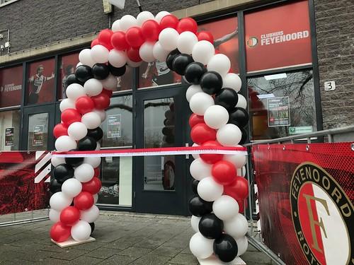 Ballonboog 6m Opening Feyenoord Clubhuis Rotterdam