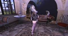 WG Store - Coat Dress Aloma (PinkangelIndigo) Tags: baxe candycrunchers catwa elise maitreya mila she thesugargarden veechi wgstore