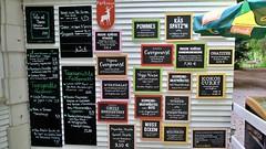 Tagesgerichte und Speisen (Sanseira) Tags: augsburg siebentischwald tagesgerichte speisen parkhäusl waldgaststätte biergarten zoo