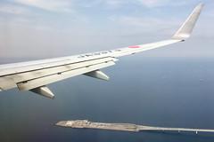 ボーイング737−800 Boeing737-800 (ELCAN KE-7A) Tags: 日本 japan 飛行機 airplane ボーイング boeing 737 b737 800 jal jl airlines 空 sky アップル アイフォーン apple iphone 2019 東京湾 bay アクアライン aqualine 海ほたる