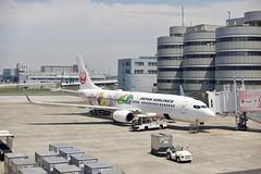 ボーイング737−800 Boeing737-800 (ELCAN KE-7A) Tags: 日本 japan 飛行機 airplane ボーイング boeing 737 b737 800 jal jl airlines 空 sky アップル アイフォーン apple iphone 2019 羽田空港 haneda airport