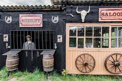 15-Saloon et sheriff (Alain COSTE) Tags: 2019 hautevienne lavarache limousin nikon ocb printemps sigma20mmf14 eymoutiers france musée de la récup muséedelarécup