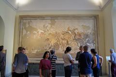 Battle of Issus between Alexander and Darius III (kate223332) Tags: houseofthefaun pompeii mosaic museum archeology napoli italy alexanderthegreat darius romanmosaic