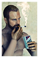 New Set for 1/6 Figures !... (Kersofoto(s)) Tags: phicen male figure 16 scale diorama cigarette pack kerso etsy portrait