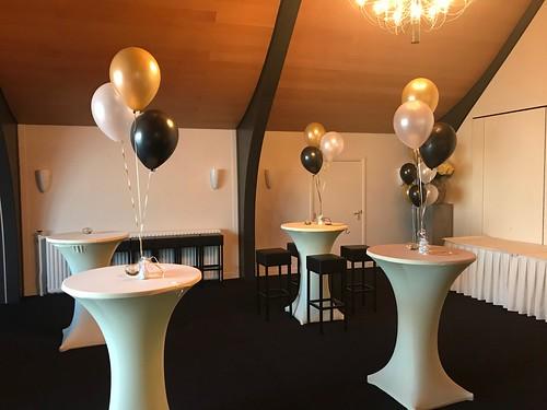 Tafeldecoratie 3ballonnen Kampanje Hardinxveld Giessendam