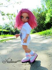 IMG_2794 (nadena14) Tags: wig bjdwig bjd handmadedoll bjddoll dollphoto fairyland bjdphotographycoloringh littlefee