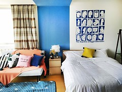 Deluxe Queen Bed Apartment near ULO PARK, Beijing: mulai Rp -* / malam (VLITORG) Tags: apartemen di beijing