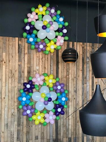 Ballonnenwand Pasen Watertuin Spijkenisse