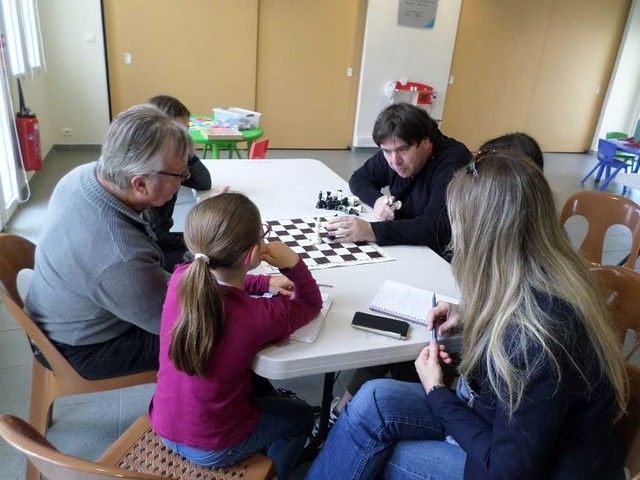 Les échecs se sont invités à la médiathèque !