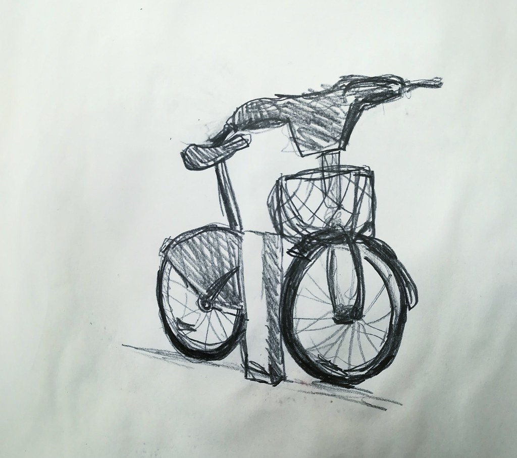 The worlds best photos of bicycle and drawing flickr hive mind
