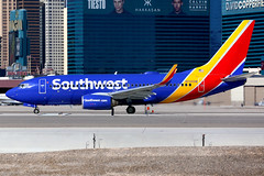 Southwest Airlines | Boeing 737-700 | N744SW | Las Vegas McCarran (Dennis HKG) Tags: aircraft airplane airport plane planespotting canon 7d 100400 lasvegas mccarran klas las southwest southwestairlines swa wn boeing 737 737700 boeing737 boeing737700 n744sw