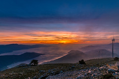 The beautiful view at twilight (Vagelis Pikoulas) Tags: greece europe kithairwnas kithaironas greek landscape sea seascape nature canon 6d tokina 1628mm 2018 sky skyscape colors colours sunset twilight dusk