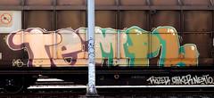 graffiti on freights (wojofoto) Tags: amsterdam nederland netherland holland graffiti streetart cargotrain freighttraingraffiti freighttrain freights fr8 vrachttrein wojofoto wolfgangjosten trein train templ