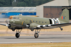 Dakota - RIAT 2018 (Airwolfhound) Tags: riat fairford dc3 dakota