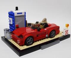 FF3 Clay's 2006 Dodge Viper SRT-10 (Iggy X) Tags: lego moc speed champions fast furious moviecar tokyo drift dodge viper srt10