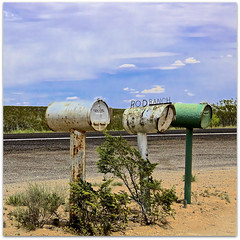 Rod's Ranch (2bmolar ~ Off for awhile!) Tags: hcs clichesaturday cliche desert mailbox