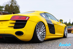 "Yellow Audi R8 stanced • <a style=""font-size:0.8em;"" href=""http://www.flickr.com/photos/54523206@N03/46985056845/"" target=""_blank"">View on Flickr</a>"