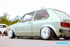 "VW Golf MK1 turbo fans • <a style=""font-size:0.8em;"" href=""http://www.flickr.com/photos/54523206@N03/46985104255/"" target=""_blank"">View on Flickr</a>"