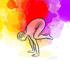 Black Crow Yoga Pose (Hebstreits) Tags: background bakasana balance beautiful black body calm concentration crow design energy exercise female figure fit fitness health healthy icon illustration isolated leisure lifestyle logo mandala meditate meditation ornament peaceful people pictogram pose position relax relaxation serenity set sign silhouette simple sport stretching symbol vector wellness white woman workout yoga zen