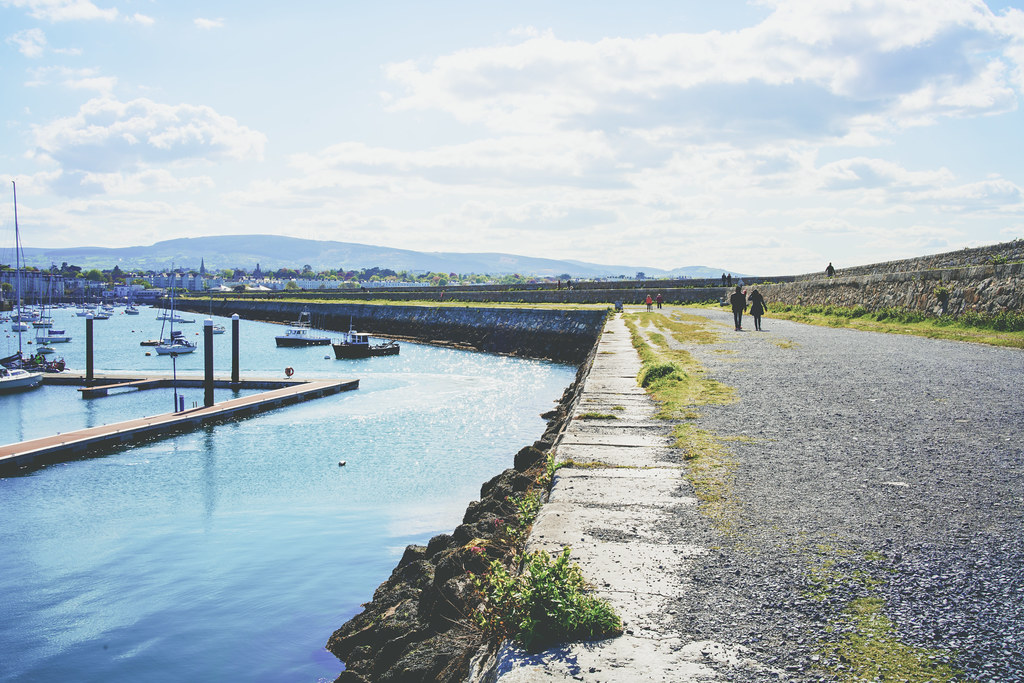 THE MARINA AREA AT THE WEST PIER [DUN LAOGHAIRE HARBOUR]-152180