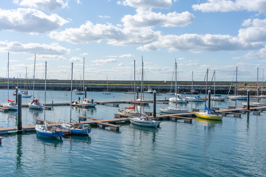 THE MARINA AREA AT THE WEST PIER [DUN LAOGHAIRE HARBOUR]-152182
