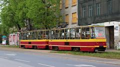 Trams in Łódź (2) (Krzysztof D.) Tags: polska poland polen łódź łódzkie tram tramwaj strassenbahn transport transportation transportpubliczny
