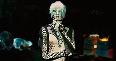 Contemplating (Cяιsιs) Tags: second life heffa secondlife sl catwa mesh body daniel male tattoos gothic goth emo piercing piercings punk style crisis tocrisis flickr portrait photoshop edit belleza jake vale koer valekoer code5 kai taox tattoo