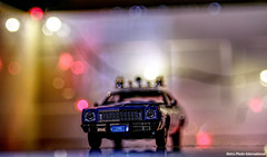 Unit 3100 (Retro Photo International) Tags: diecast greenlight 143 plymouth fury nypd minolta 50mm 14 police car 1975