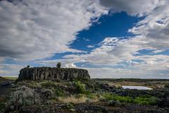 Rock formation (Richard McGuire) Tags: us washington landscape sunset