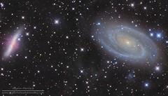 M81 and M82 Bode's Nebula in LRGB (LightVortexAstronomy) Tags: m81 m82 messier galaxies galaxy bodes nebula astronomy astrophotography deep space lrgb eeye mosaic