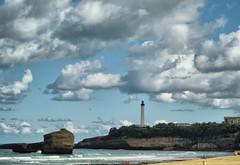 Las nubes y el Faro (marian950) Tags: las nubes y el faro saint martin biarritz