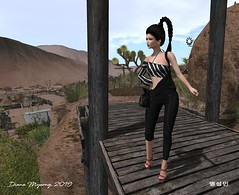 The Limo Broke Down, But I Still Look Great (Diana Myeong) Tags: secondlife copperriver outdoors fashion laq maitreya ikon tukinowaguma yasum essenz