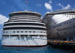 Carnival Dream and Royal Caribbean Symphony of the Seas (carnival_dream_2019_0351) (ronnie.savoie) Tags: royalcaribbean rccl carnival carnivaldream costamaya mahahual quintanaroo méxico mexico cruise cruises cruiseship cruiseships symphonyoftheseas