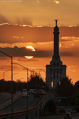 Restaurador Sol (juan.sangiovanni) Tags: monumento héroes restauración santiago república dominicana 75 años