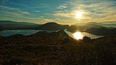 Riunirsi a Sion (eshao5721) Tags: sole dioonnipotente cieloblu lodeadio nuvole laparoladidio montagna lago chiesacristiana creatore signoregesù regnodeicieli