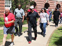 Fayetteville AR VAMC (Veterans Health) Tags: va usdepartmentofveteransaffairs veterans homelessveterans va2k va2kwalkroll walking vaemployeehealth activelifestyles veteranshealthcaresystemoftheozarks fayettevillear