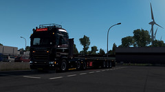Taking a Break (Virtual Driver) Tags: ets2 scania go style france v8 krone truck transport