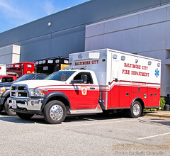 Baltimore City Fire Department Medic (Pending Assignment) (Seth Granville) Tags: baltimore city fire department medic 2019 ram 5500 road rescue emergency vehicles