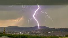 Blitz und Donner über Ilmenau (Fini_stern) Tags: blitz blitzunddonner thunderstorm lightning thüringen wetter gewitter natur nature naturephotography weather