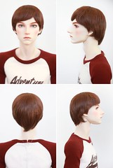 Wig makeover (xikomartins) Tags: bjd abjd asian ball jointed dolls doll collection collector collectors dolly male man synthetic mohair hair retrato viking photography eyeco men boy boys toys toy 70cm 70cmbjd wig wigs hobby realistic real live alive masculine mannequin resin photographer venitu 5th motif fifth dollshe craft reheads monique smoke portrait boneco ruivo ruivos cabeludo metalhead retro vintage garden outside photograhy pupée muñeco casual skater hippie hipster canon 5d short brian restyled restyle